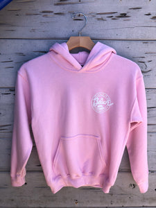 Youth Pullover Hoodie Pink