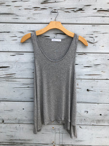 Best Selling Flowy Tank Heather Gray