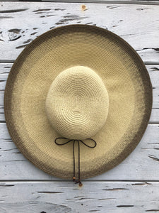 Bronze Wide Brim Hat