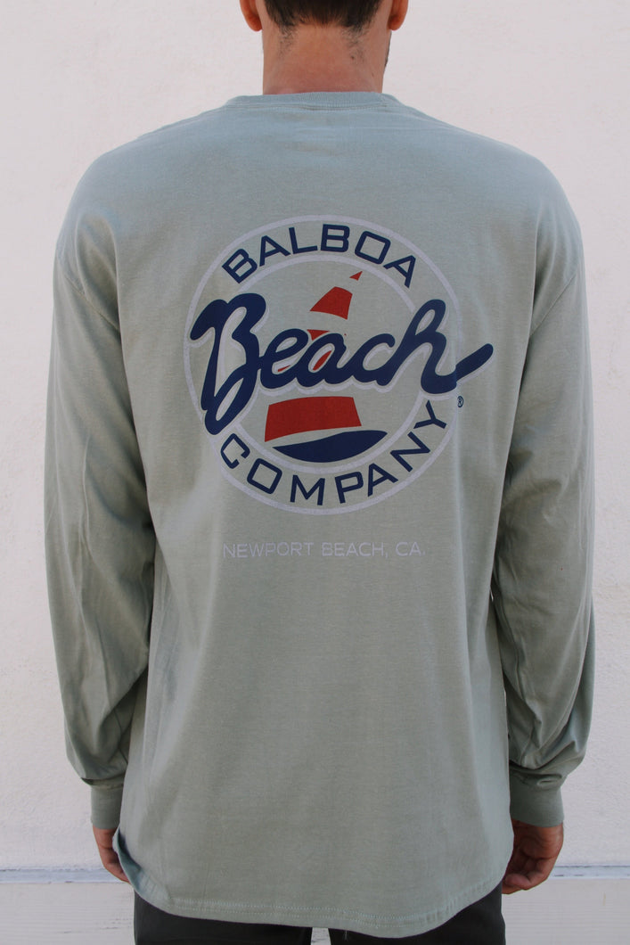 Beach Co. Longsleeve Stone Green