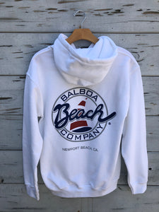 Beach Co. Pullover White or Navy
