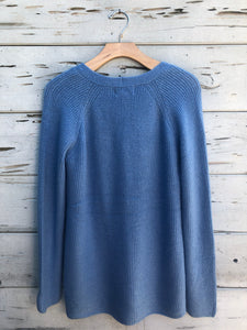 Our Softest Knit Tunic Sweater Blue