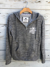 California Zip Hoodie Heather Gray