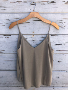 Our Perfect Modal Cami Light Olive