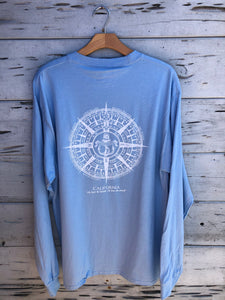 Newport Anchor Longsleeve Blue