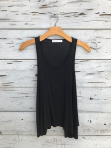 Best Selling Flowy Tank Black