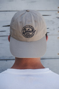 Beach Company Signature Baseball Cap Tan