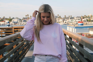 Beach Co. Crewneck Pink