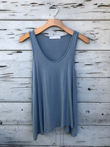 Best Selling Flowy Tank Denim