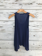 Best Selling Flowy Tank Navy
