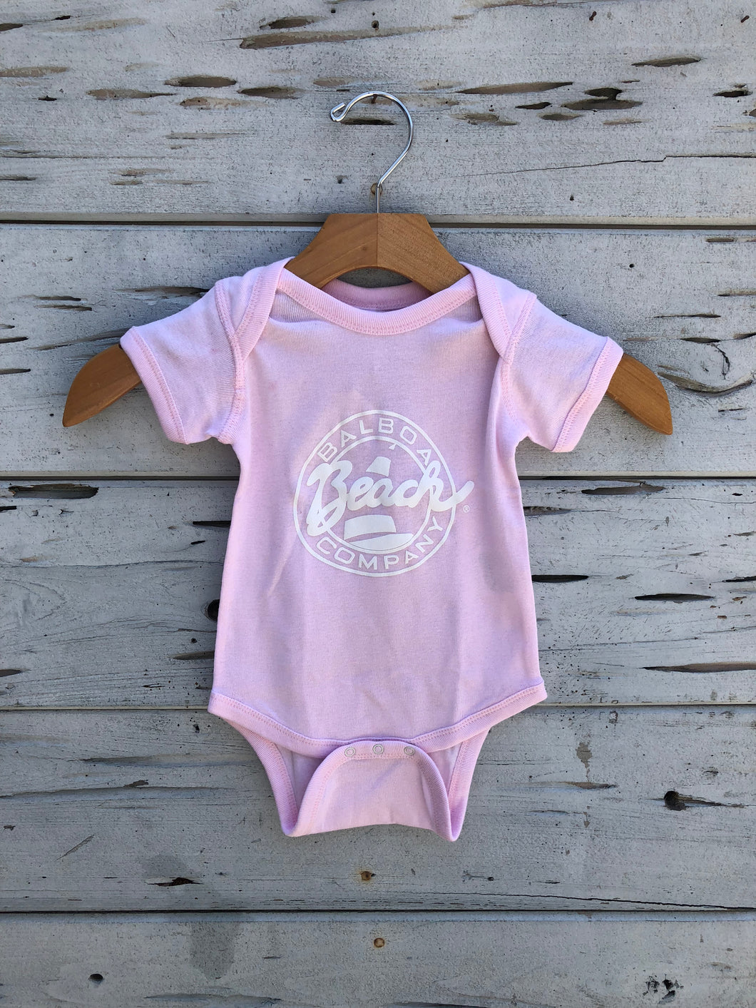 Beach Co. Onesie Pink