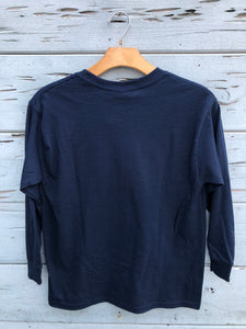 Youth Longboard Tee Navy