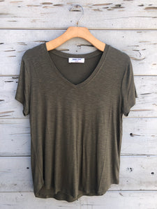 Our Favorite Boyfriend Tee Olive
