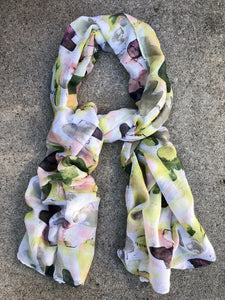By the Lily Pond Scarf Moss