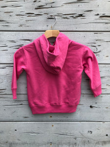 Toddler Pullover Hoodie Bright Pink