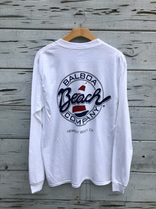 Beach Co. Longsleeve Tee White