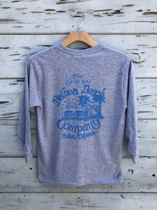 Youth Longsleeve Tee Heather Gray