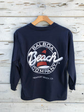Youth Longsleeve Tee Navy