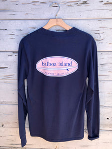 Long Board Longsleeve Navy