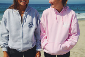 Beach Co. Pullover Hoodie Pink