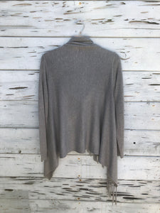 Best Selling Fringe Sweater Heather Gray