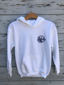 Youth Pullover Hoodie White