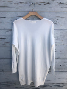 Dreamy Ultrasoft Sweater White
