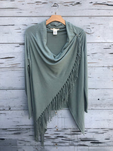 Best Selling Fringe Sweater Pistachio