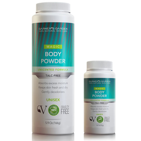 Natural Body Powder - Talc Free