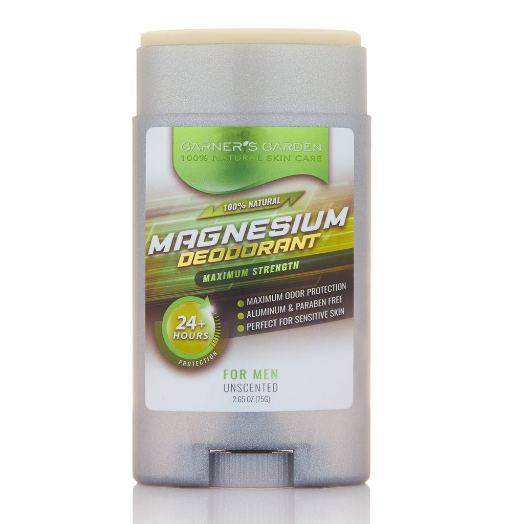 Magnesium Deodorant - Maximum Strength - Unscented