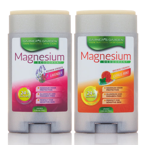 Magnesium Deodorant - Scented- Maximum Strength