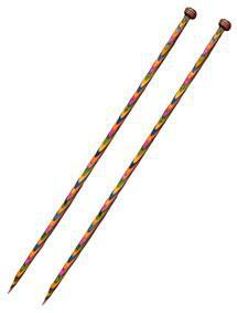 Knit Picks Rainbow Wood Single Point 14""