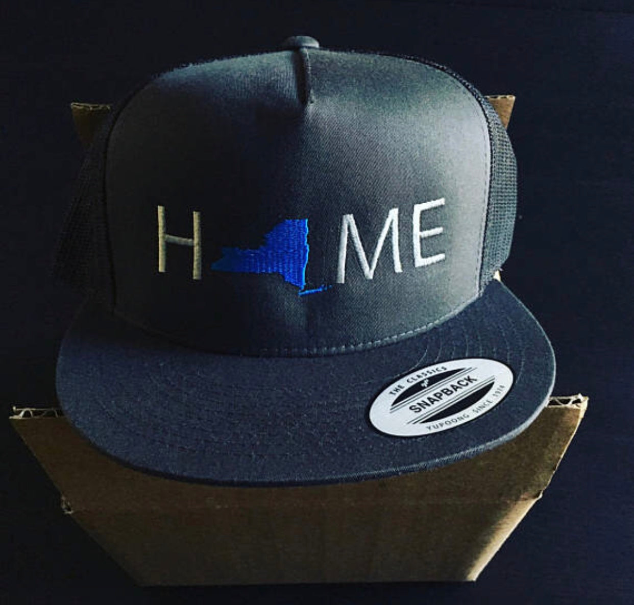247699567bc ... New York Home Hat © - My Home Hats