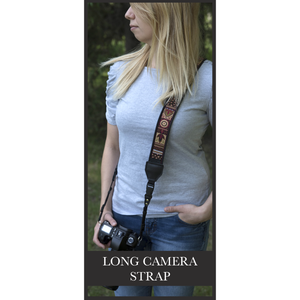 Camera Strap - Driftwood Owl