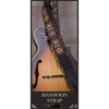My Fave Mandolin Strap on a Mandolin.