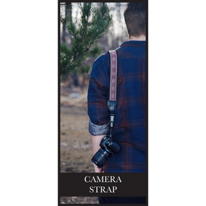 Camera Strap - Stay Focused
