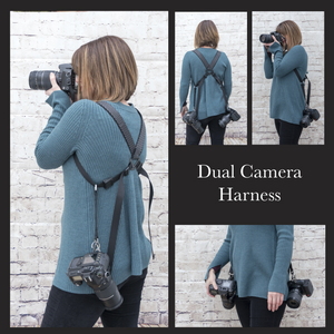 My Fave Camera Straps Dual Camera Harness