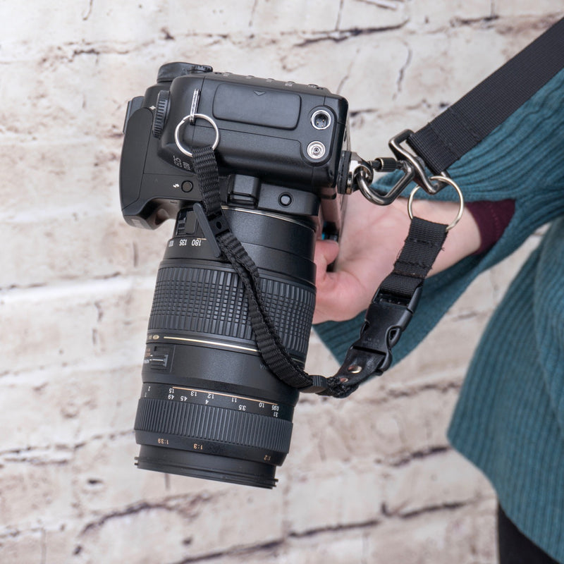 Dual Camera Harness Quick Connect Safety Straps