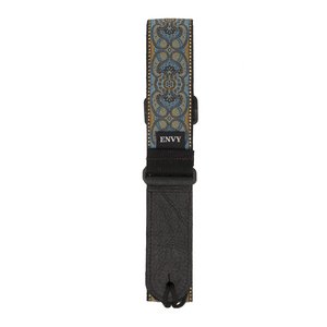 My Fave Guitar Strap in Teal Renaissance