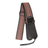 My Fave Guitar Strap in Red Criss Cross