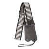 My Fave Guitar Strap in Black and White Houndstooth