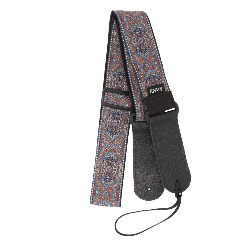 My Fave Guitar Strap in Navy Renaissance