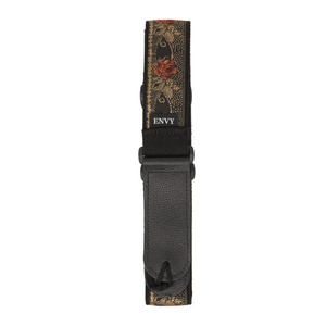 My Fave Guitar Strap in Roses