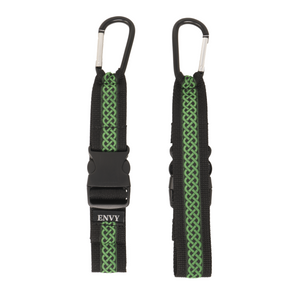 My Fave Jacket Strap in Green Celtic - Front & Back Image