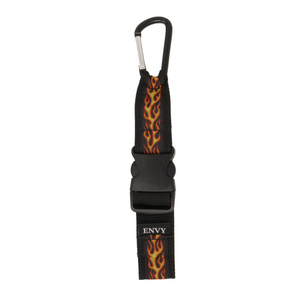 My Fave Jacket Strap in Orange Flames