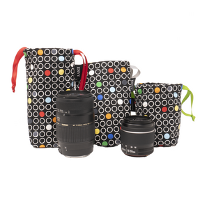 Camera Lens Bag - Stay Focused Color Edition
