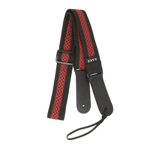 My Fave Mandolin Strap - Red Celtic