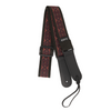 My Fave Mandolin Strap in Wine Scroll
