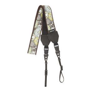 My Fave Long Camera Neck Strap - Decorative Camera Strap - Pattern: Calm