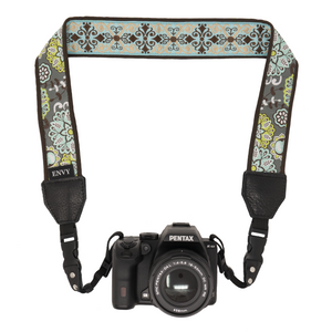 My Fave Camera Neck Strap - Decorative, Reversible Camera Strap - Pattern: Calm